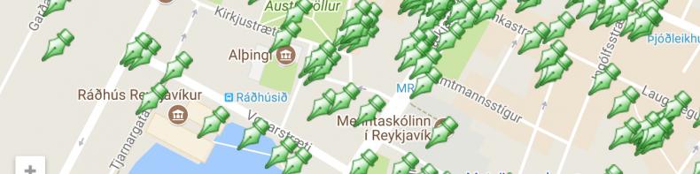 Ljóðakort Reykjavíkur