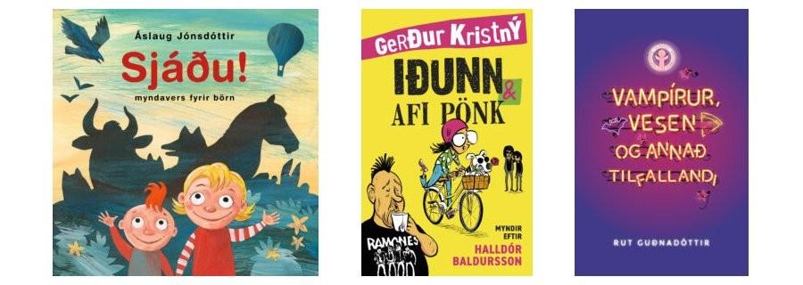 Barna- og ungmennabækur tilnefndar til Fjöruverðlaunanna 2021