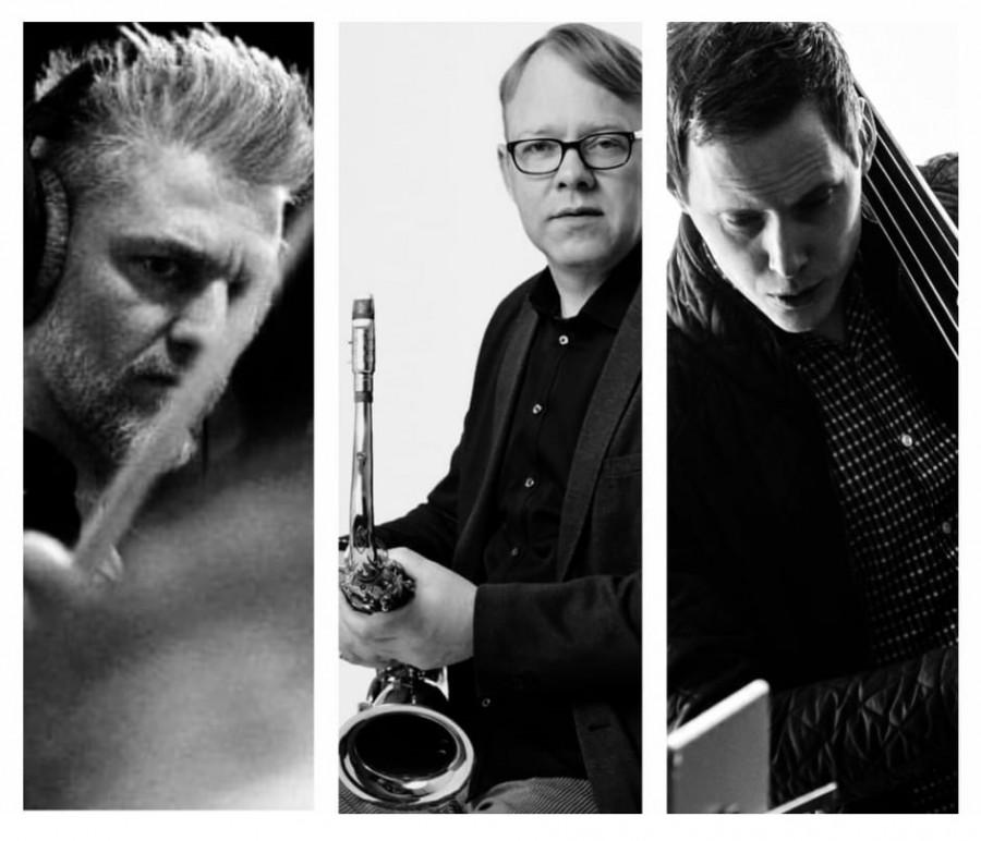 Jazz í hádeginu I Minglað við Monk Magnús Jóhann Ragnarsson Leifur Gunnarsson Borgarbókasafnið