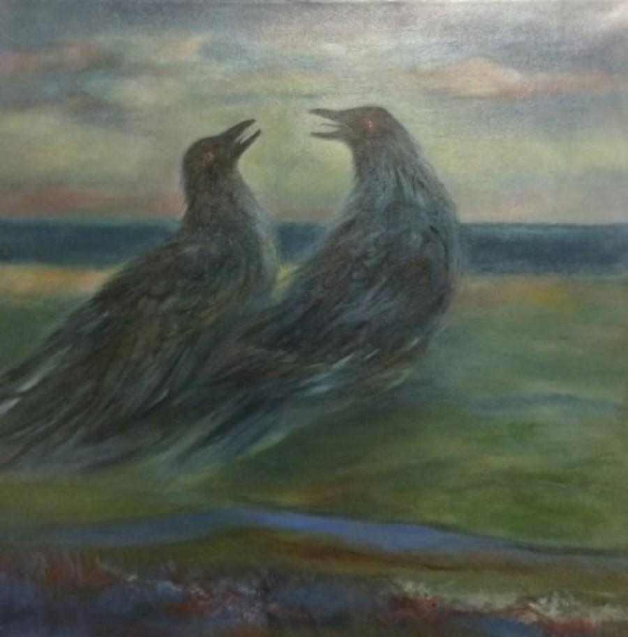 'Krummapar' eftir Ernu Guðmarsdóttur