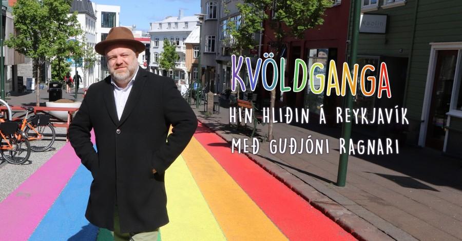 Hin hliðin á Reykjavík - Guðrún Ragnar Jónasson leiðir kvöldgöngu