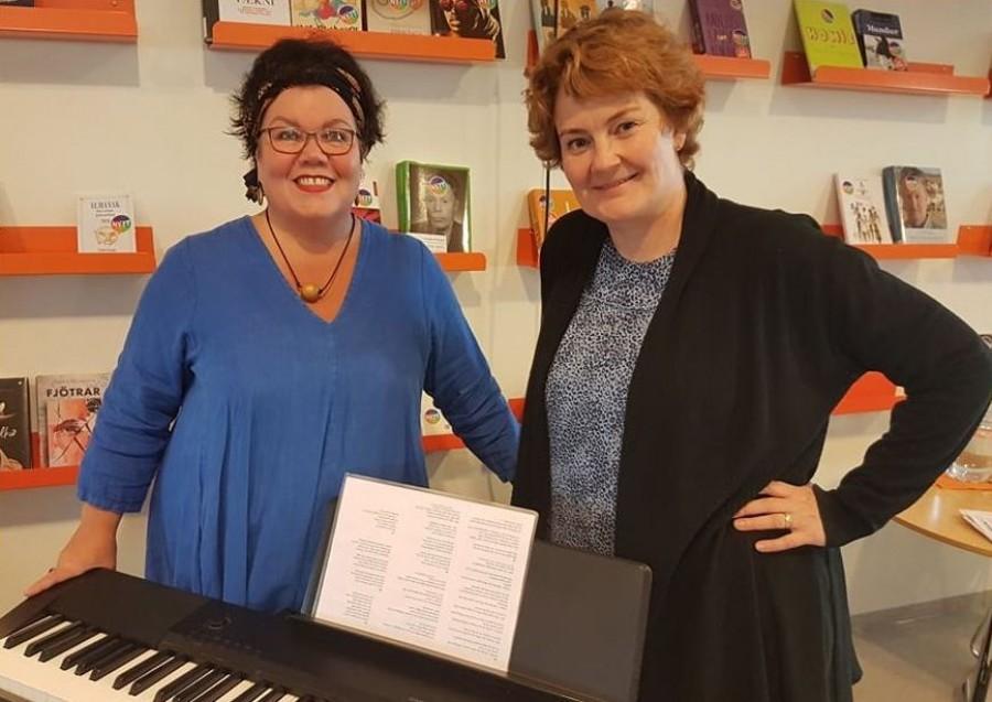 Anna Sigríður Helgadóttir and Aðalheiður Þorsteinsdóttir