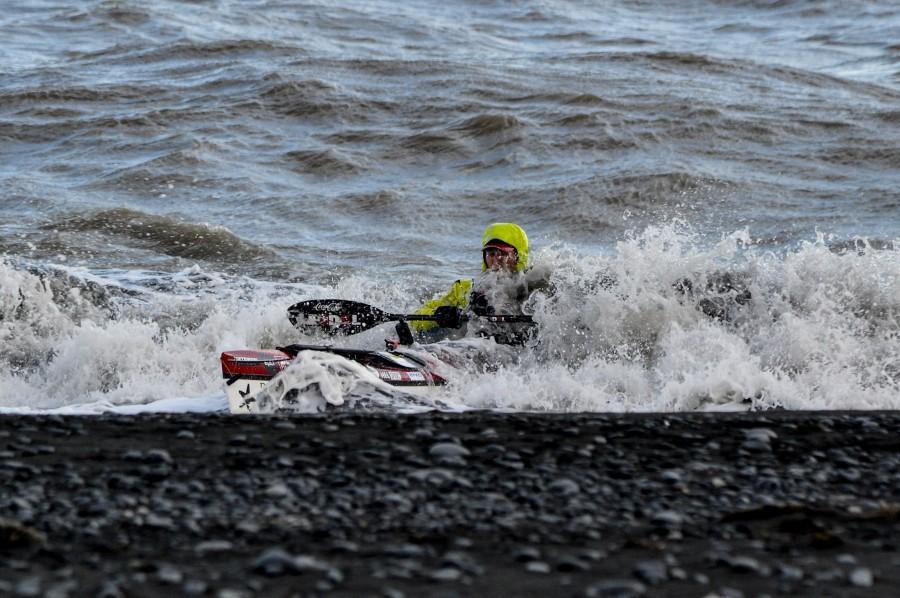 Ferðakaffi | Kringum Ísland á kajak