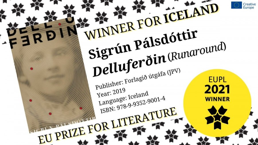 Sigrún Pálsdóttir hlýtur Bókmenntaverðlaun Evrópusambandsins 2021