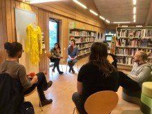 artist talk in Gerðuberg
